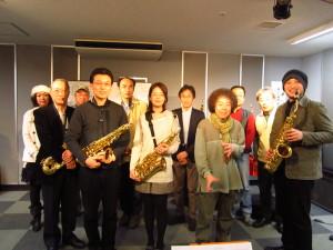 島村楽器 札幌平岡店セミナー終了後、皆さんと♪