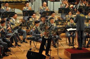 陸上自衛隊第一音楽隊 金曜コンサートにて